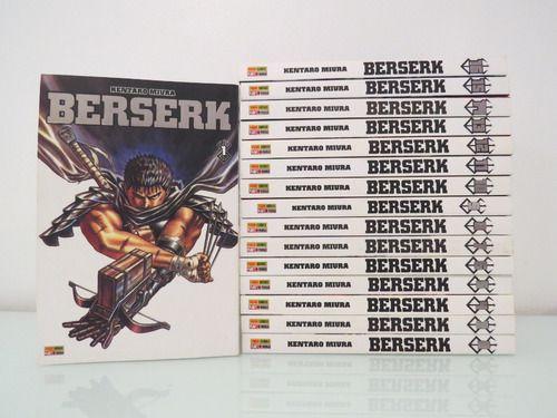 Coleção Mangá Berserker 1 ao 16 (Pronta Entrega)