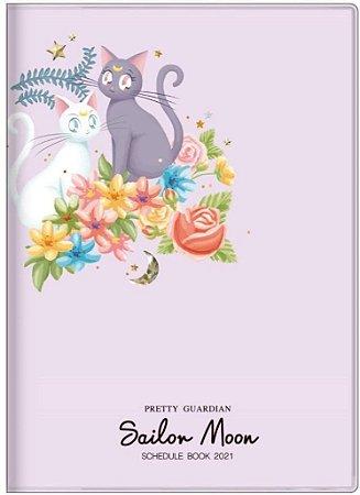 Planner 2021 - Sailor Moon Luna e Arthemis  (Pronta Entrega)