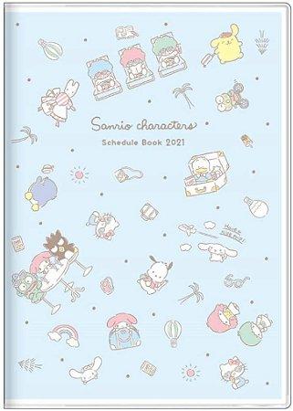 Planner 2021 - Sunstar Stationery Sanrio Characters Light Blue (Pronta Entrega)