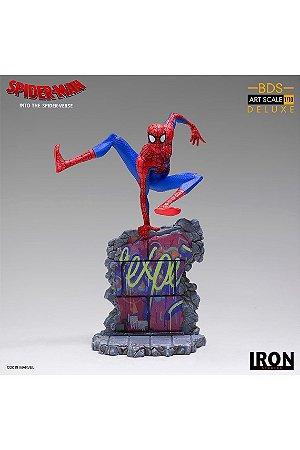Peter Parker - Into the Spider Verse - Art Scale 1/10 - Iron Studios (Pronta Entrega)