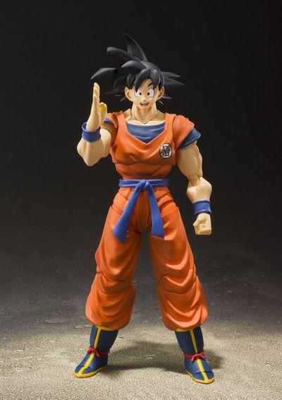 SH Figuarts - Son Goku - A Saiyan Raised on Earth (Pronta Entrega)