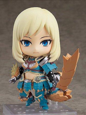 Nendoroid Monster Hunter World: Iceborne Female Hunter Zinogre Alpha Armor Ver. DX(Pre-order)