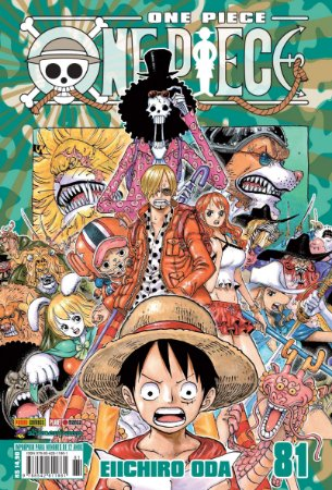 One Piece - Volume 81 (Pronta Entrega)