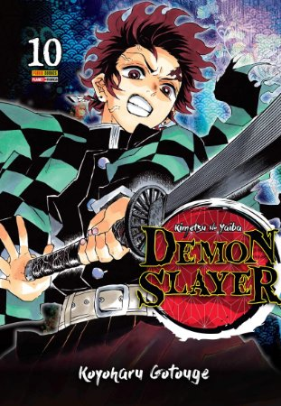Demon Slayer - Kimetsu No Yaiba - Volume 10 (Pronta Entrega)