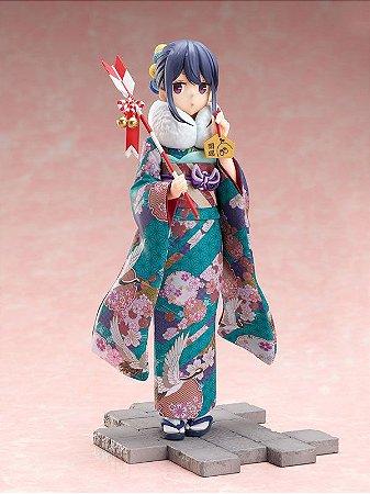Yuru Camp Rin Shima Furisode ver. 1/7 Scale Figure (Pre-order)