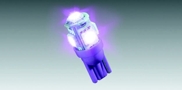 Lâmpada LED Roxo (5 LEDs) 90208164