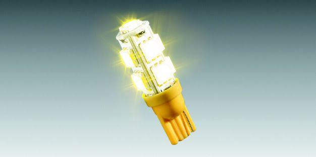Lâmpada LED Amarelo (9 LEDs) 90208181