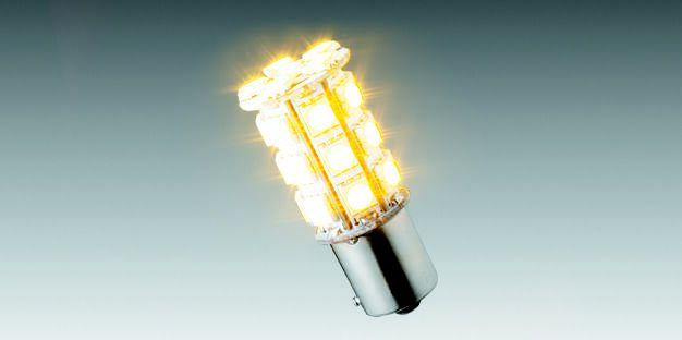 Lâmpada LED Amarelo (27 LEDs) 90208360