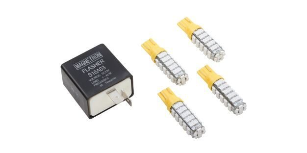 Kit Relé de Pisca com Lâmpada LED Amarelo (68 LEDs) CB 300 R (2009-2015) CB 300 R LIMITED (2012-2012) CRYPTON T 115 ED (2010-2013) CRYPTON T 115 K (2010-2013) 90208311