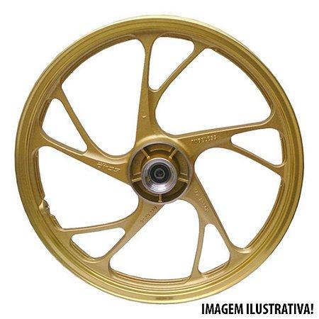 Aro/Roda Liga Leve Titan 160 Esd Titan 150 14/15 Mod160 ex Freio A Disco 5pontas Max