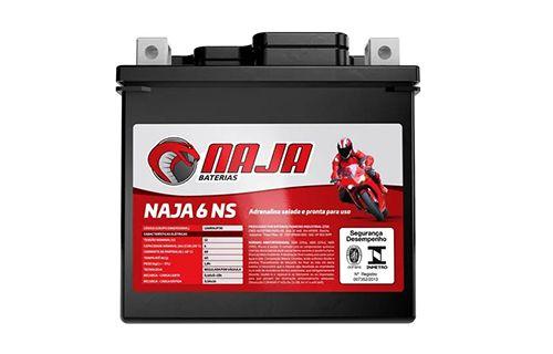 Bateria Naja 6Ah - NAJA 6 NS
