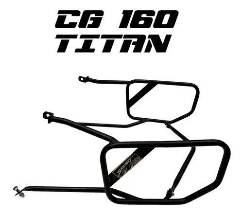 Protetor Carenagem Traseiro Afastador Titan 160 Cg 160