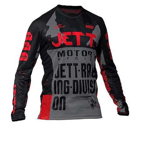 Camisa Jett Factory Edition 3 Verm