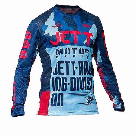 Camisa Jett Factory Edition 3 Azul
