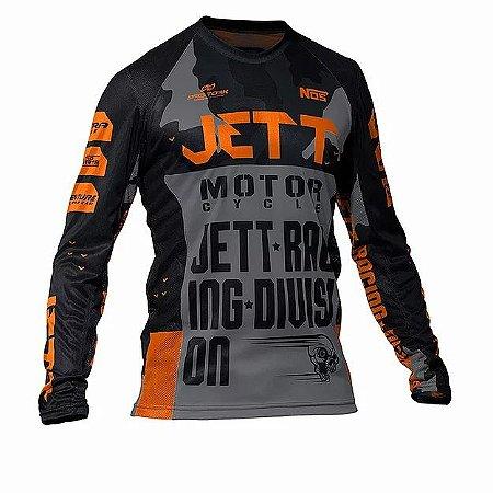 Camisa Jett Factory Edition 3 Laranj