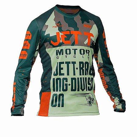 Camisa Jett Factory Edition 3 laranj Verd