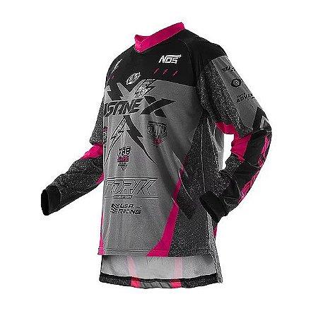 Camisa Pro Tork Insane X Rosa Preta