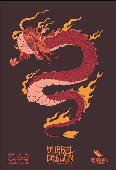 Pôster Dubbel Dragon
