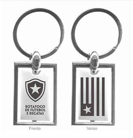 Chaveiro Botafogo Giratório Escudo e Bandeira