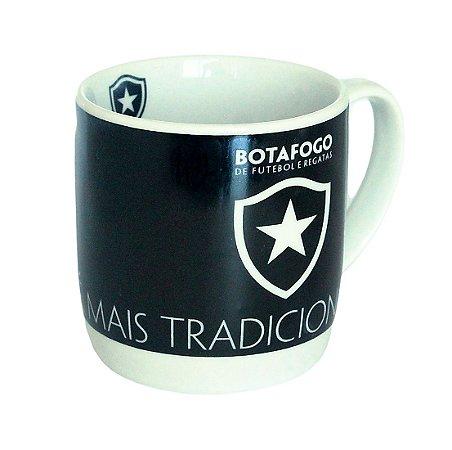 Caneca de Porcelana Botafogo 290ml na Caixa
