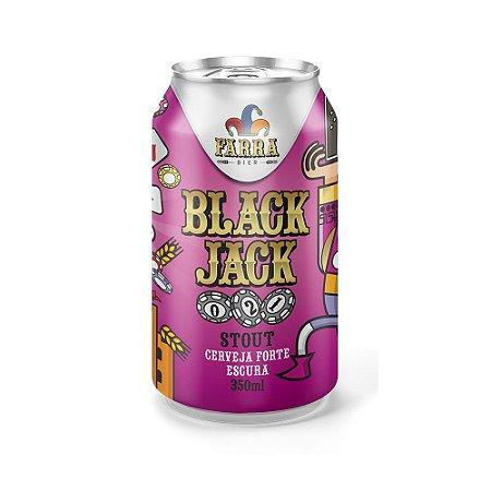 Cerveja Farra Bier Black Jack Stout 350ml