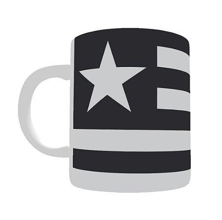 Caneca de Porcelana Bandeira do Botafogo