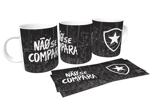Caneca de Porcelana Não se Compara Botafogo