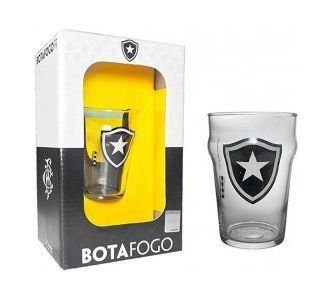Copo Pub Botafogo 200ml na Caixa