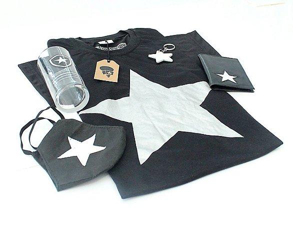 Kit Camisa Estrela + 4 Produtos