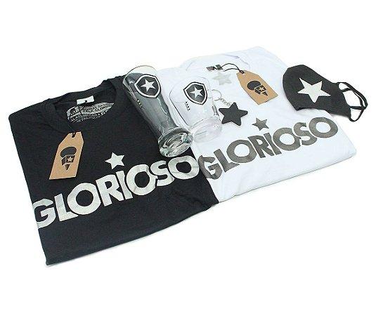 Kit 2 Camisas o Glorioso + 4 Produtos