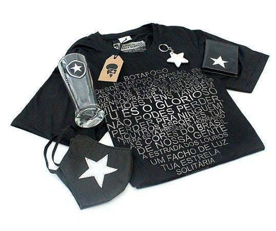 Kit Camisa Hino + 4 Produtos