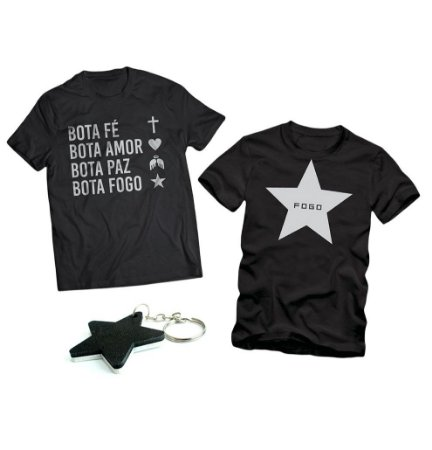 Kit 2 Camisas + 1 Chaveiro