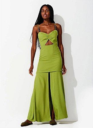 Vestido Amelie Pistache Triya