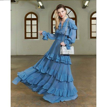 Vestido Longo Anne Fernandes