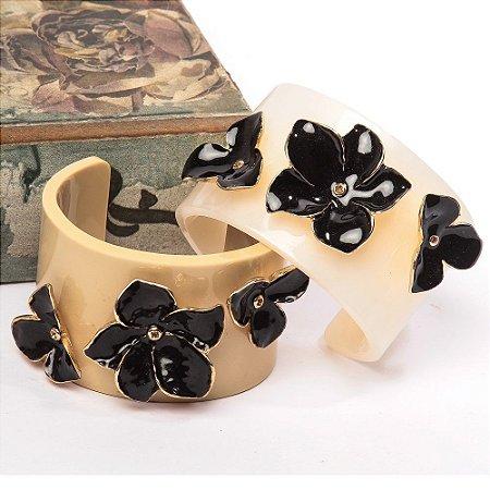 Bracelete Adebum e Acrílico