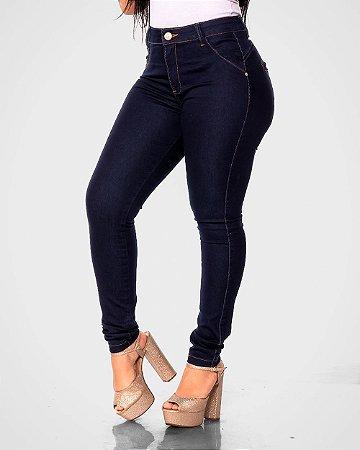Calça Jeans Escuro Bolso Embutido Fill Brasil REF 09164