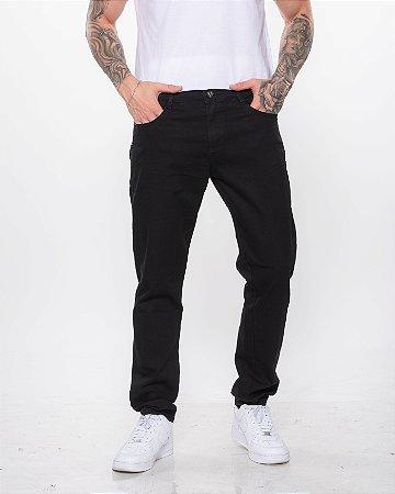 Calça Preta Jeans Básica REF 08820
