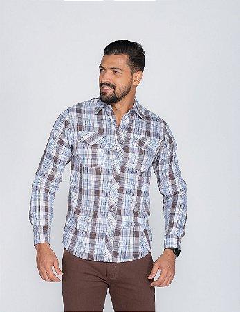 Camisa Xadrez Oksys REF 07244