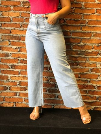 Calça Jeans WIDE LEG Clarinha LPP REF 09161