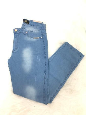 Calça jeans Clarinho Cigarrete Lupepper