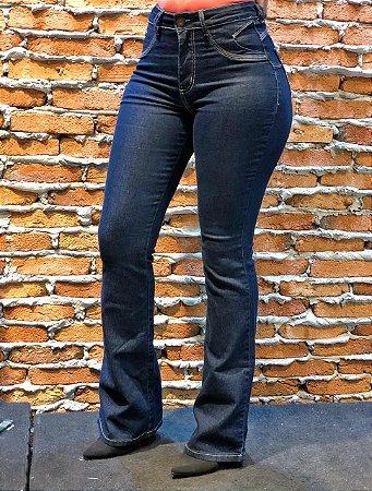 Flare Jeans Escuro REF