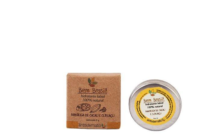 Hidratante Labial Natural de Manteiga de Macau e Cupuaçu 8g – Ares de Mato