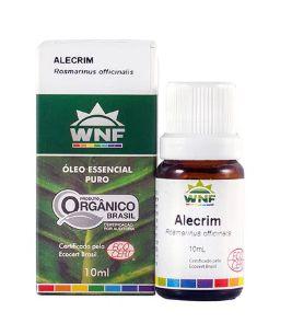 Óleo Essencial Orgânico de Alecrim 10ml - WNF