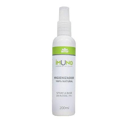 Spray Higienizador Imuno 100% Natural 200ml - WNF