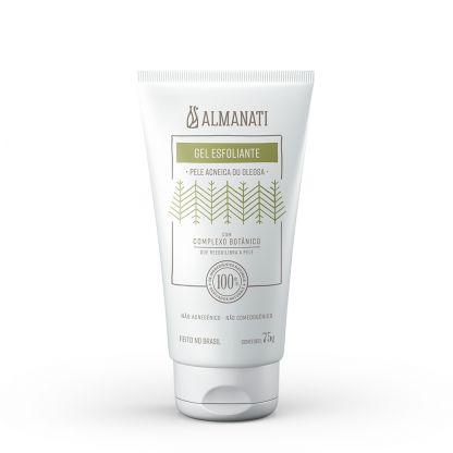 Gel Esfoliante Natural Antiacne 75g - Almanati