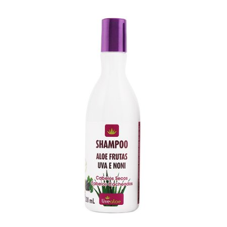 Shampoo Vegano Aloe Frutas 300ml - Livealoe