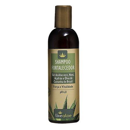 Shampoo Vegano Fortalecedor 240ml - Livealoe