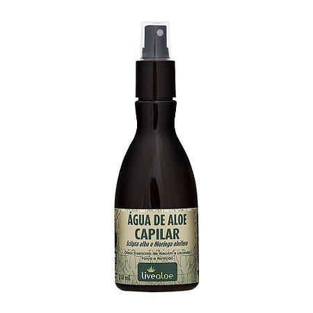 Água de Aloe Vera para Fortalecimento Capilar 210ml - Livealoe