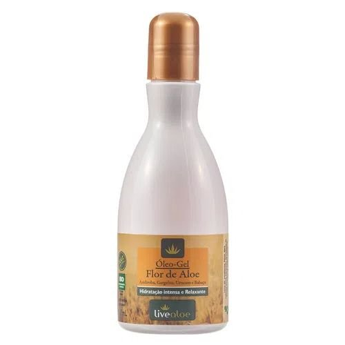 Óleo Gel Natural Vegano Flor de Aloe 210ml - Livealoe