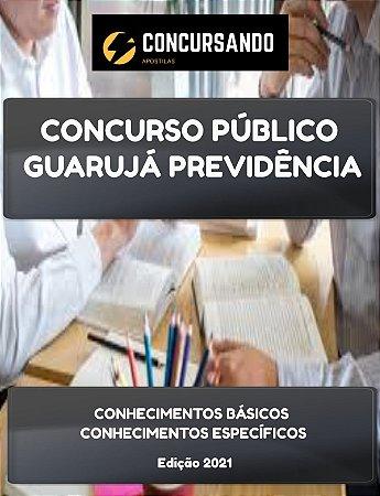 APOSTILA GUARUJÁ PREVIDÊNCIA 2021 ANALISTA PREVIDENCIÁRIO DE CONTROLE INTERNO